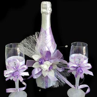 Шампанско с чаши 02