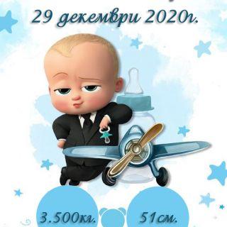 Бебешка визитка 11
