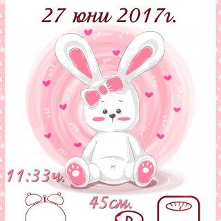 Бебешка визитка 9